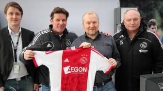 AFC Ajax Amsterdam kiitti Polar Electroa hyvästä yhteistyöstä
