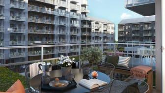 Riksbyggen bygger 60 nya bostäder i Mölndals innerstad