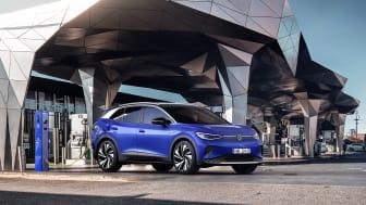 Via We Charge får Volkswagen-kunder tillgång till ett stort nätverk av laddpunkter.