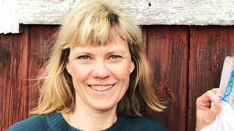 Mia Ekblad är innovatören bakom påsarna till frukt och grönt