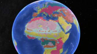 Även om klimatregioner för öknar, savanner och stäpper liknar varandra för ryggradsdjur och växter så finns det stora skillnader för tempererade och kalla klimat. Illustration: Icelab