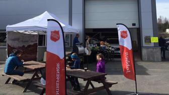 Bilia Lillehammer støtter Frelsesarmeens prosjekt Jobben