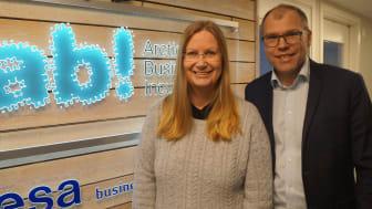 Kristina Öhman och Jens Lundström, ABI
