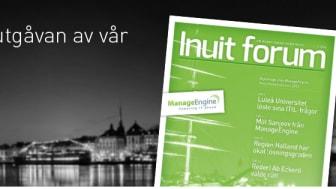 Inuit lanserar kundtidningen Inuit forum