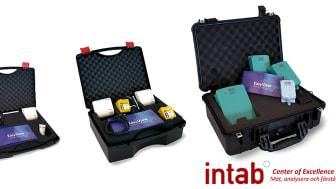 Väskorna innehåller utrustningen som behövs för att mäta koldioxid och temperatur på ett smidigt och tillförlitligt sätt.