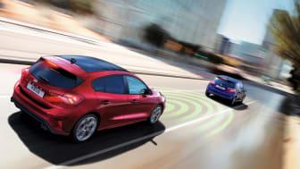 Euro NCAP roser sikkerhedsteknologi i Ford Focus
