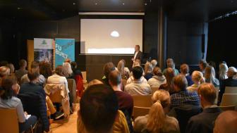 Vi ser nå et tap av naturmangfoldet uten sidestykke, sa Ivar Baste fra Miljødirektoratet under frokostmøte om naturmangfold 6. september..