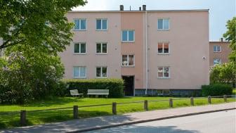Kvarteret Skäran står inför en utveckling in i framtiden.