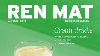 Vårutgaven av Ren Mat er en hyllest til de norske produsentene som gjør at vi kan skjenke økologisk i glassene våre. Foto: Hanne Stensvold