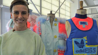 Steph Starkey prepares her Alzheimer's inspired collection for Graduate Fashion Week