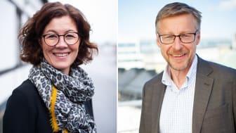 Petra Krüger och Mats Hederos tar plats i  Sweden Green Building Councils styrelse