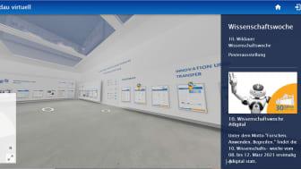 Die in diesem Jahr digital durchgeführte 10. Wildauer Wissenschaftswoche lockte mit einem breit gefächerten Programm mehr als 1.000 Interessierte in virtuelle Workshops und Symposien. (Bild: TH Wildau)