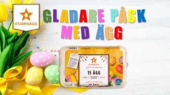 GLADARE PÅSK MED ÄGG