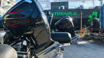 Berthon Power has supplied and supported two CXO300 single installations aboard the BRIG Eagle 8-meter RIBs supporting electric racing championship, Extreme E