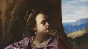 Artemisia Gentileschi, Den heliga Katarina av Alexandria. Foto: Cecilia Heisser/Nationalmuseum.