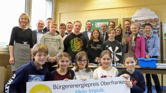 Am Freitag (31. Januar) ist der Startschuss für den Bürgerenergiepreis 2020 gefallen. Auftakt war in der Grund- und Mittelschule Hummeltal (Landkreis Bayreuth), einem der Vorjahressieger. Bewerbungsschluss ist der 29. Juni.