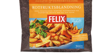 Felix lanserar potatis & ugnsgrönsaker helt utan tillsatser