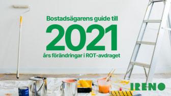 Bostadsägarens guide till 2021 års förändringar i ROT-avdraget