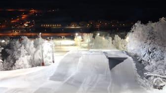 På fredag öppnar Hemavan Snowpark