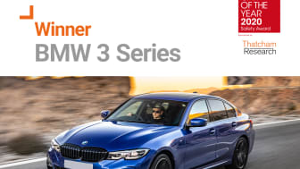 The BMW 3 Series is a 'great safety all rounder', according to Thatcham Research