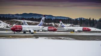 Norwegianin matkustajamäärä jatkoi kasvuaan ja käyttöaste nousi tammikuussa