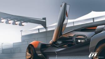 Se med, når Ford præsenterer sit virtuelle designstudie
