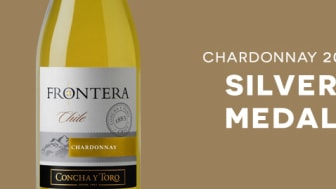 Silver till Frontera Chardonnay i Vinalies Internationales