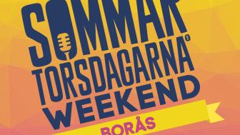 Sommartorsdagarna® i Borås utvecklas i år till Sommartorsdagarna Weekend