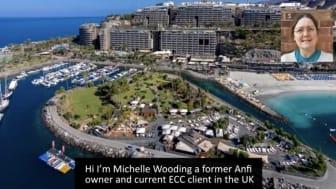 European Consumer Claims (ECC) client testimonial.  Michelle Wooding.  ANFI claimant