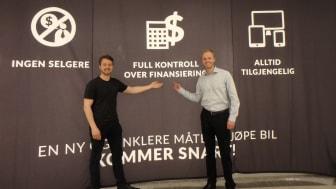 Vemund og Vigbjørn Hassel presenterer en helt ny måte å kjøpe bil på.