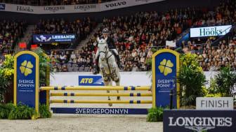Vinnare av Sverigeponnyn 2018: Philippa Landberg. Fotograf: Natalie Greppi/GHS