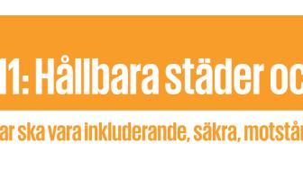 Säker och trygg stad - inbjudan till konferens 3 april