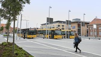 Bybusser kører nye ruter og nye tider