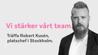 Robert Kusén, Platschef Tamro Stockholm