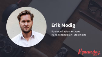 Erik Modig och Johanna Sevonen till Mynewsday