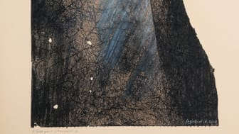 Beitrag zur Corona-Zeit: Étude de chaosmos, 2020, von Jean-Paul Ingrand