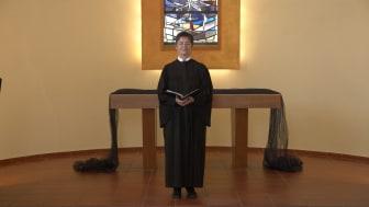 Annette Hestermann, Pfarrerin der Hephata-Kirchengemeinde, hat die Video-Andacht zu Karfreitag inhaltlich gestaltet.
