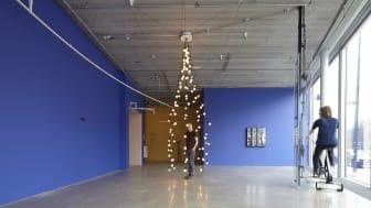 Jeppe Hein, Light Pavilion I (Ljuspaviljong I), 2009.