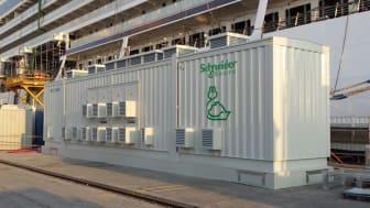 Schneider Electric landstrømsanlæg til Korsør Havn