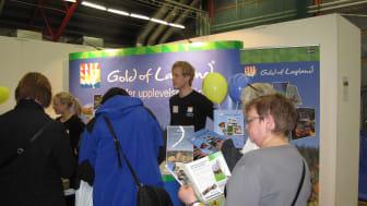 Stort intresse för Gold of Lapland på Luleåmässan