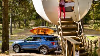 Ford Explorer ladbar hybrid Hove 2020 komoot