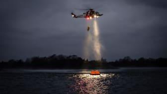 Sjöfartsverket har sju räddningshelikoptrar av typen AW 139. Foto: Patrik Nilsson