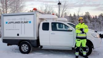 Lapplands Elnät ska elektrifiera den största vindkraftparken i Europa.