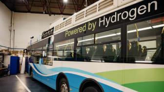 Wasserstoffbus in Aberdeen