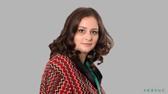 """Olivera Gegovska, personalchef: """"Vi är verkligen tacksamma över att ha så många människor med så stort engagemang"""""""