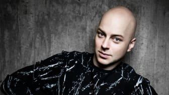 Robert Fux, residensartist på Vara Konserthus. Foto: Matilda Rahm
