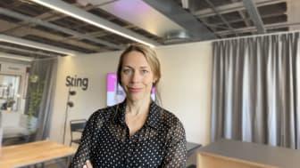 Julia Hallin, ny Head of Marketing & Communications på Sting