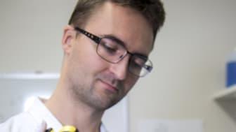 Lukasz Antoniewicz, läkare, medicinkliniken, Danderyds sjukhus. Foto: Carin Wesström