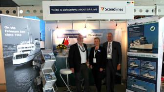 Scandlines' deltagelse i Fehmarnbelt Days 2016 i Hamburg positivt modtaget