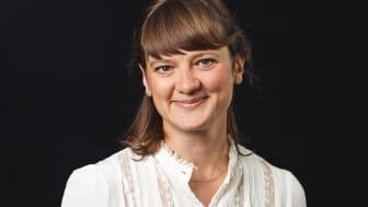 Sanna Albjørk ansat som rådgiver og udviklingspartner i Bikubenfonden. Foto: Ulrik Jantzen
